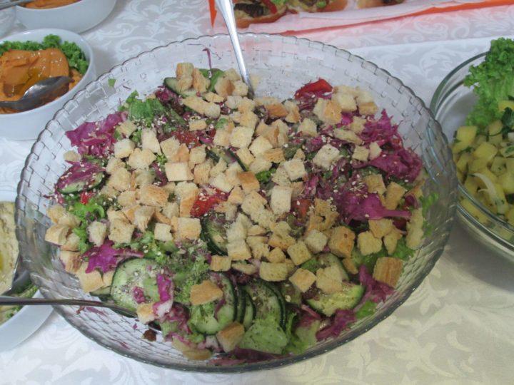 Posne salate kao obroci