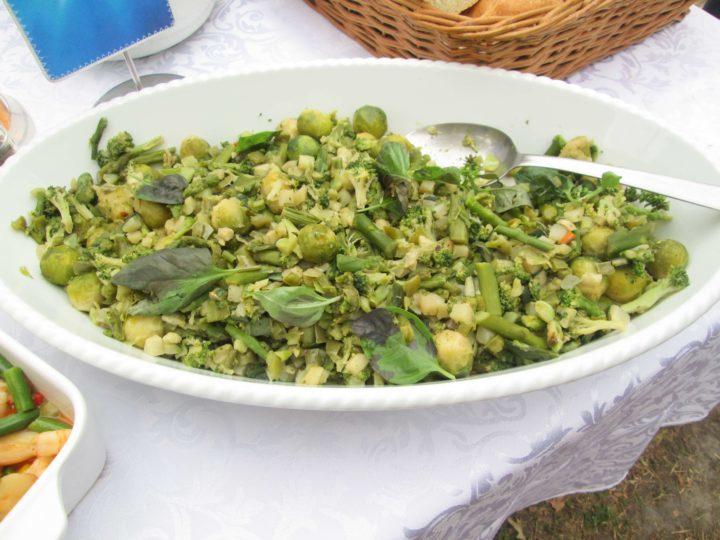 Špargla, prokelj i brokoli