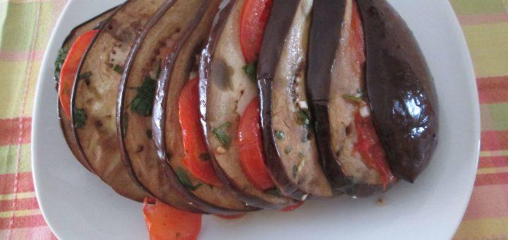 Lepeza od pečenog patlidžana