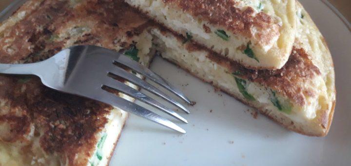 Pržene lepinjice sa sirom i lukom