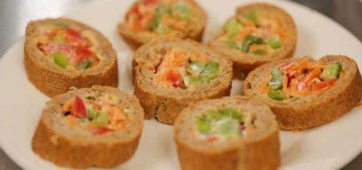 Punjeni hleb i kanapei s Argeta humus namazima
