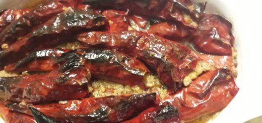 Suve paprike s orasima
