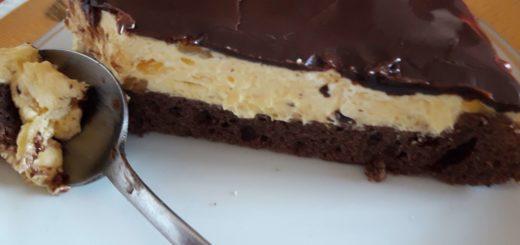 Čokolada-pomorandža tart