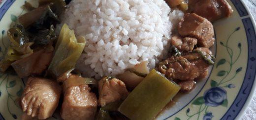 Kineska piletina s prazilukom
