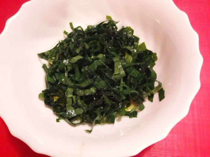 Salata s listovima sremuša