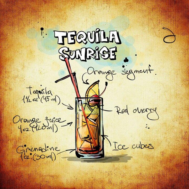 Tekila sanrajs (Tequila Sunrise)