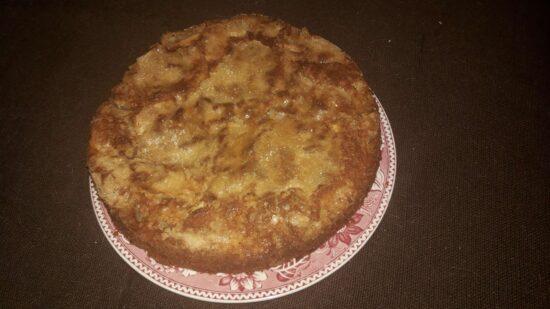 Fini kolač s jabukama (i jogurtom)