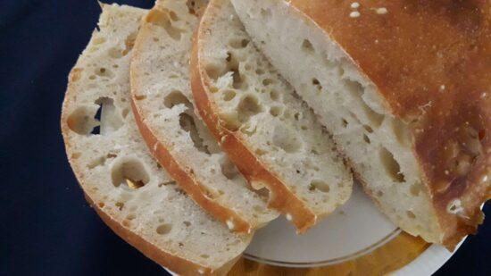 "Domaći hleb s ""rupama"""