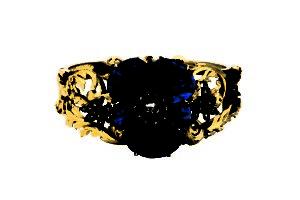 Narukvica, zlato, lapis lazuli, brilijanti, 19 vek,Minhen.jpg