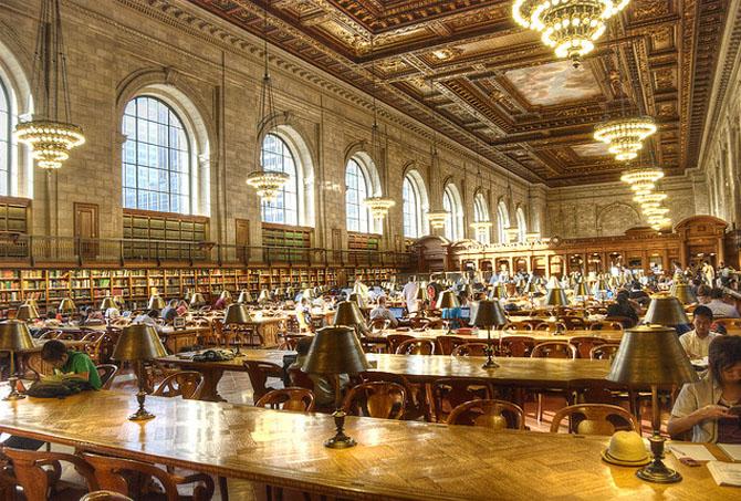 Javna biblioteka u Njujorku