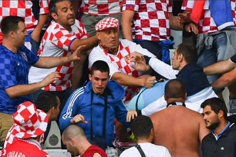 Hrvaćanski navijači