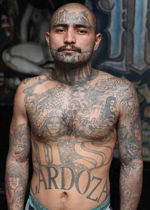 Zatvorenik u Salvadoru, član bande Mara Salvatruča