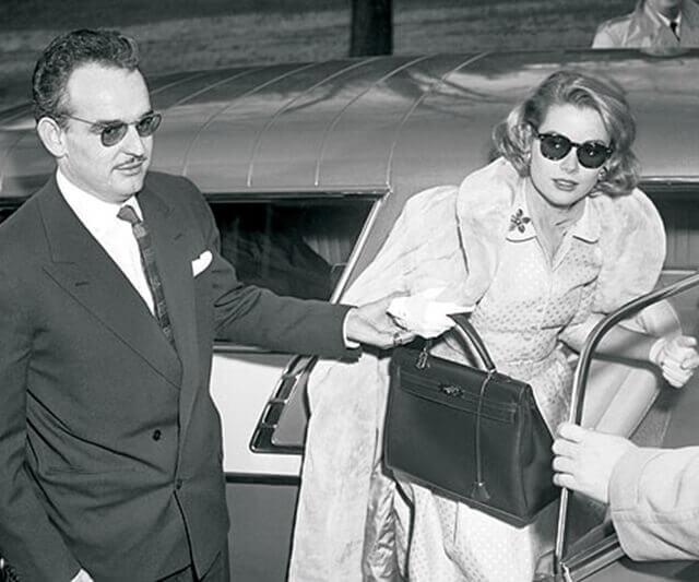 Renije III od Monaka, Grejs Keli i Kelly bag