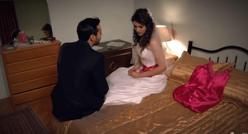Venčanje, odnosno početak trudnoće