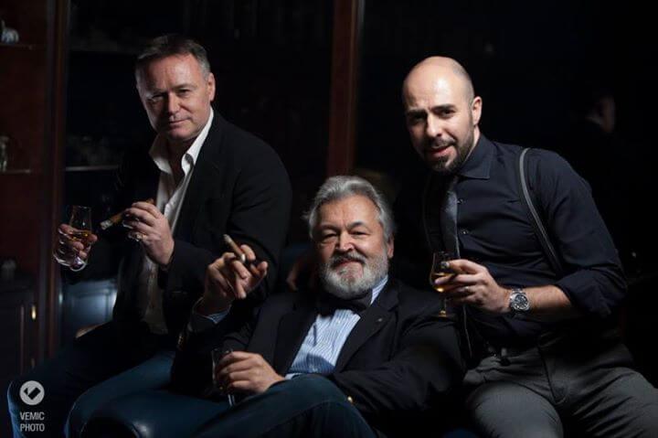 Sleva nadesno: Džeremi Kasdali, Milan Pajević i Marko Bilić