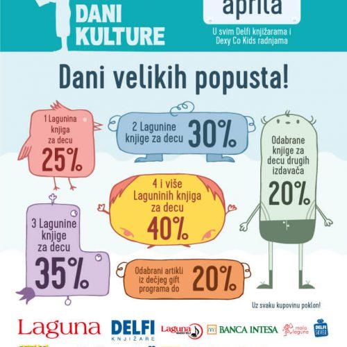 Dečji dani kulture od 21. do 23. aprila