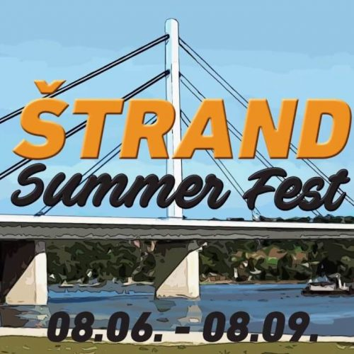Štrand Summer Fest do 8. septembra