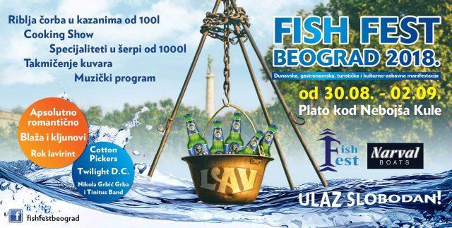 Fish Fest kod Kule Nebojša