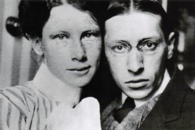 Igor Stravinski i Katarina Nosenko