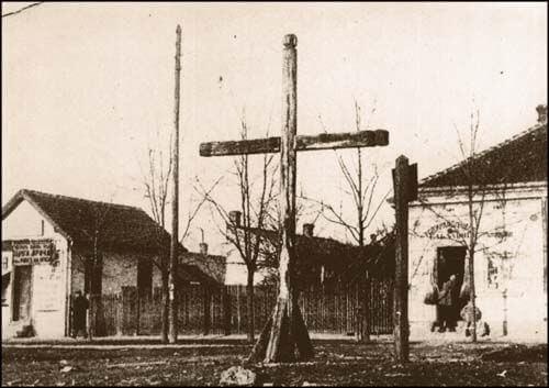 Vozarovićev krst fotografisan 1906.
