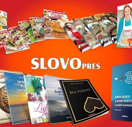 SlovoPres na Međunarodnom beogradskom sajmu knjiga
