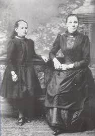 S majkom 1890.