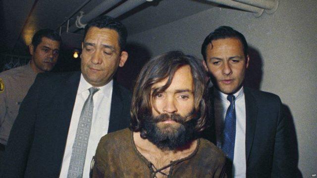 Čarls Menson, uhapšen 1969, osuđen 1971.