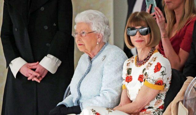 Ni u društvu kraljice nije skinula naočare za sunce