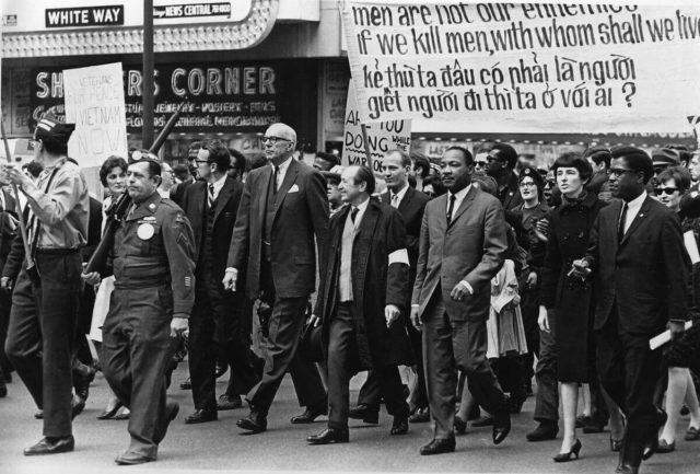 Bio je prijatelj Martina Lutera Kinga i njegov politički saborac