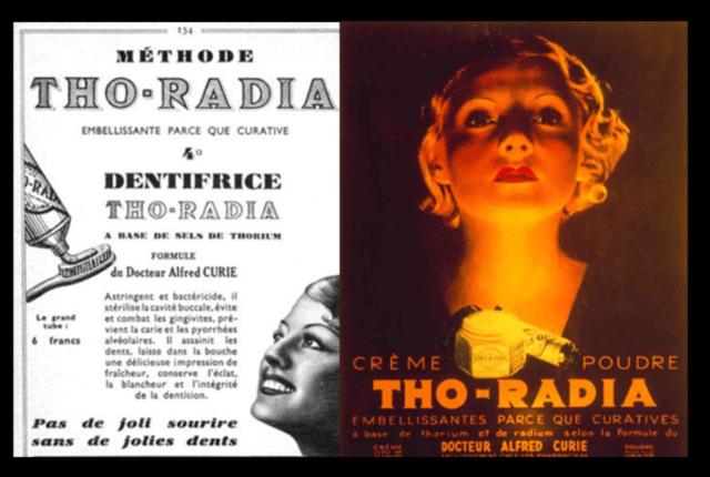 Radioaktivna kozmetika s radijumom – lepi i mrtvi