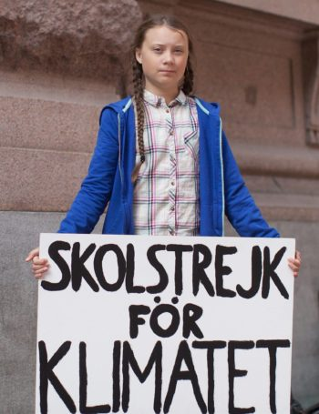 Greta ispred Švedskog parlamenta svakog petka