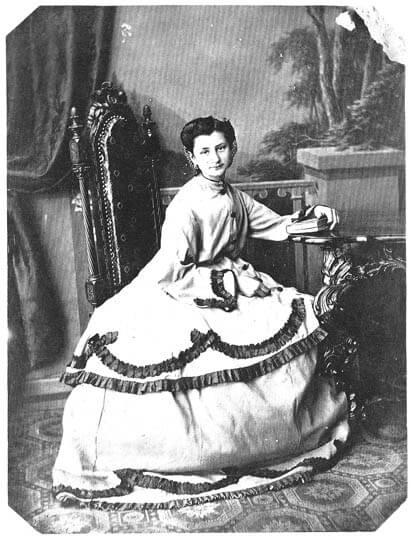 Portret Poleksije Todorović, Anastas Jovanović, 1865.