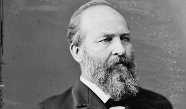 Džejms Garfild (1881-1881)