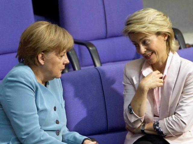 S Angelom Merkel