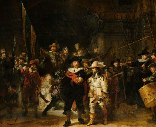 350 godina od Rembrantove smrti – uživo projekat Operacija Noćna straža