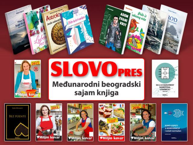 SlovoPres na Međunarodnom beogradskom sajmu knjiga 2019. godine