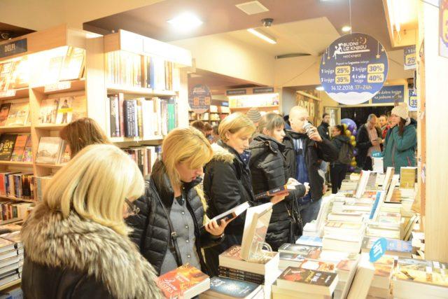21. regionalna manifestacija Noć knjige s velikim popustima za kupovinu