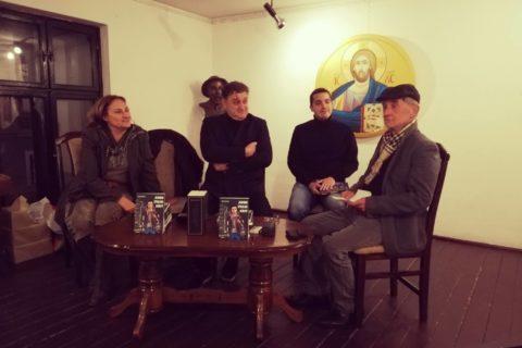 """Predstavljena knjiga """"Adem zvani Krst"""" u Kući Đure Jakšića"""