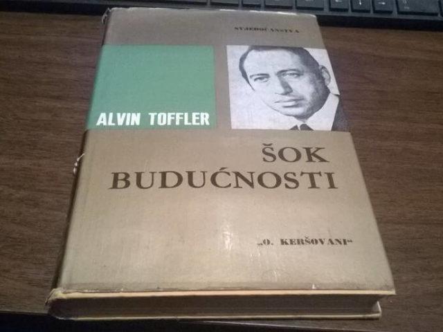 Šok budućnosti (Future Shock) – Alvin Toffler (Bantam Books, 1970)