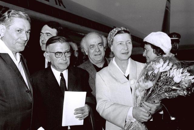 Žan-Pol Sartr i Simon de Bovoar