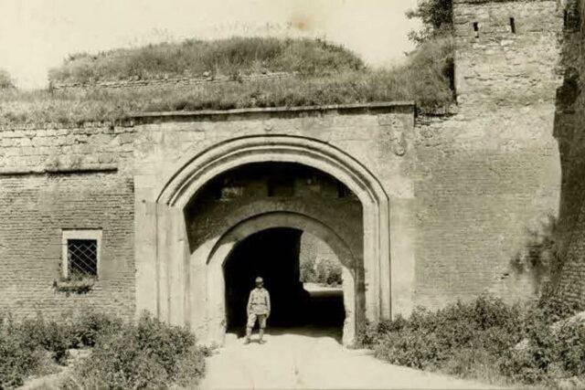 Spoljašnja Sava-kapija tokom Prvog svetskog rata
