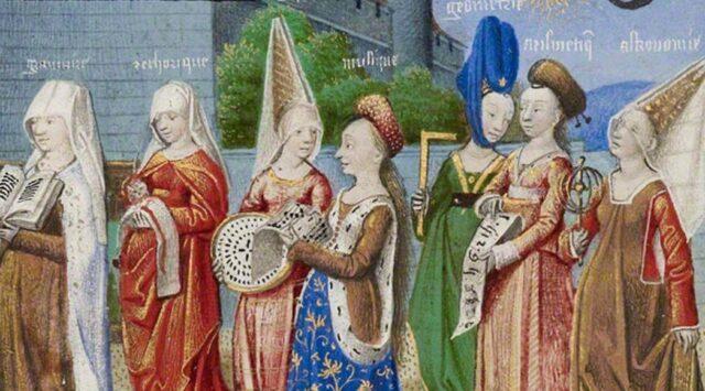 Dženin ili atur - modni krik 14. veka. Savremenici kažu da je bilo dženina (atura) visokih i po metar! Izvorno je atour (francuski)