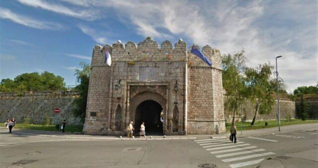 Niška tvrđava, glavni ulaz (Stambol-kapija)