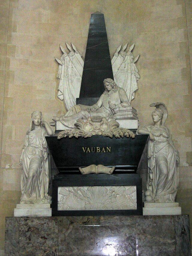 Posmrtni ostaci De Vobana u Domu invalida, Pariz
