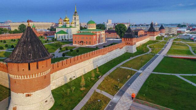 Tvrđava u Tuli, Rusija