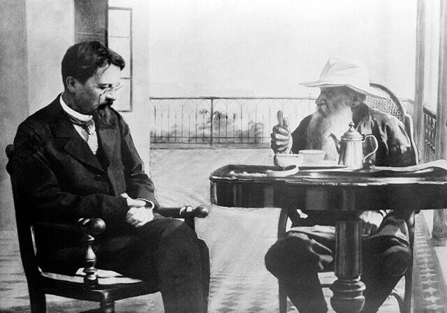 A. P. Čehov i L. N. Tolstoj