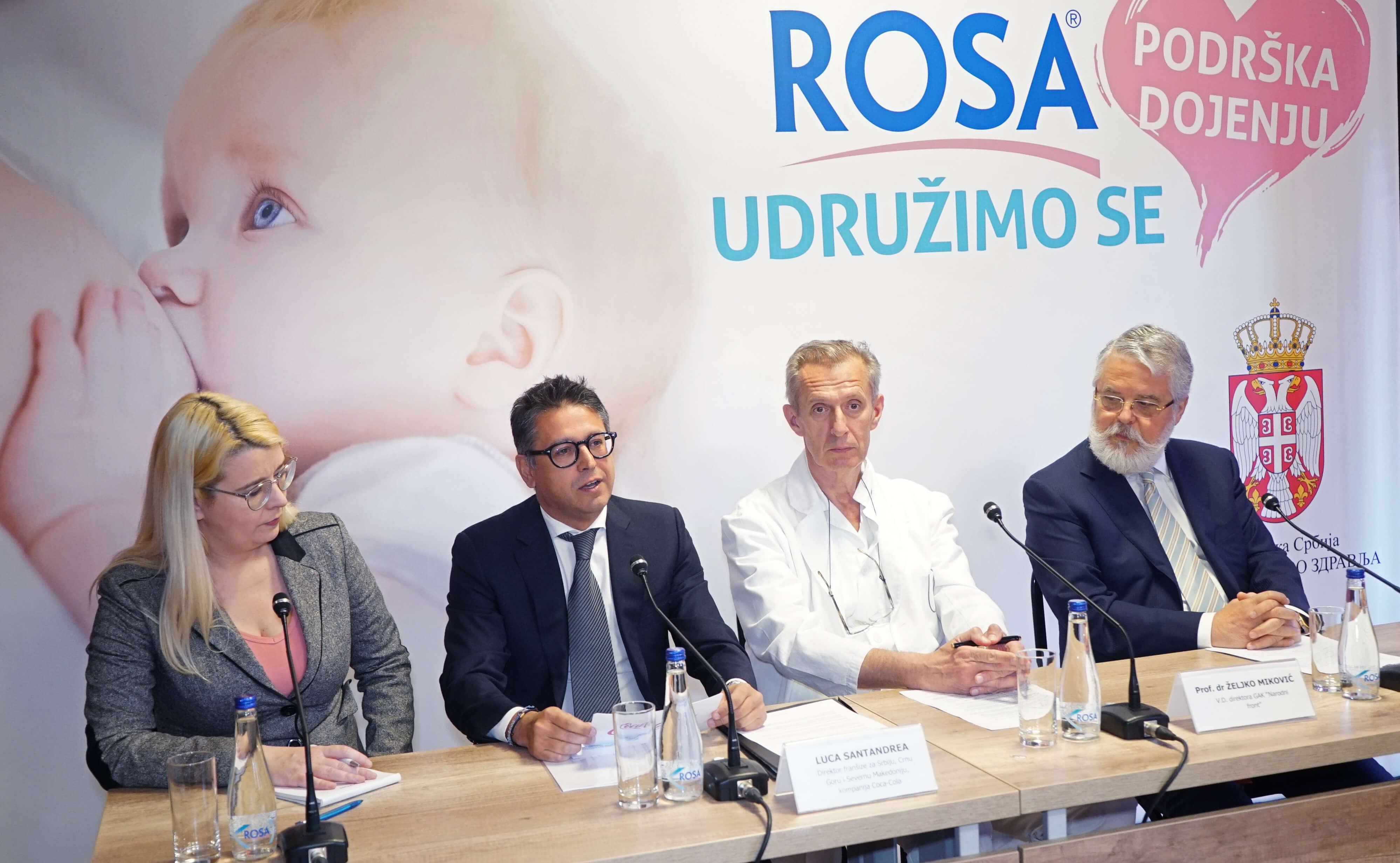 Rosa soba za podršku dojenju uskoro u GAK Narodni front
